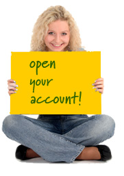Open an account online!